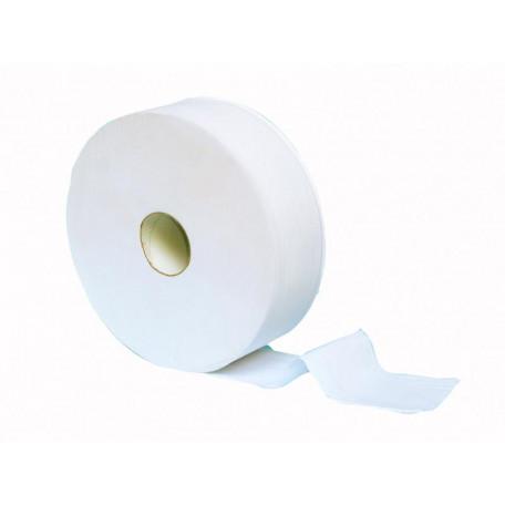 Papier hygiénique, jumbo 400 mètres, pure pâte