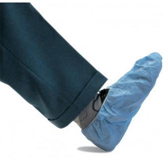 Couvre-chaussure en non-tissé-ourlet élastique