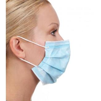 Masque de chirurgie à élastique Type II R 3 plis