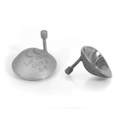 Protecteurs occulaires Laser en acier inoxydable avec poignées en métal