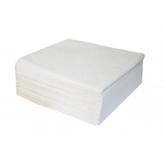 Serviettes blanches 3 plis 40 x 40 cmle paquet de 70 unités