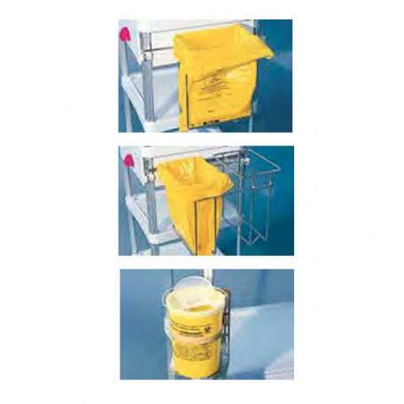 supports sac poubelles