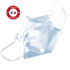 Masques de chirurgie élastique Type II R 3 plis. Fabrication française