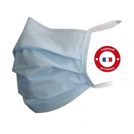 Masques de chirurgie à lannière. Fabrication française