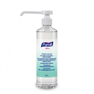 Gel hydroalcoolique GEL PURELL VF - 500ml + pompe