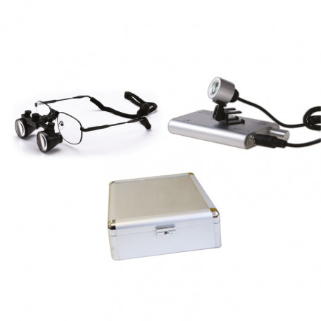 LUNETTES loupes binoculaires MHC avec eclairage led