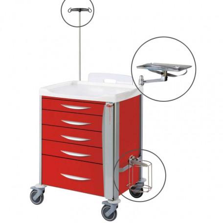accessoires chariots d'urgence