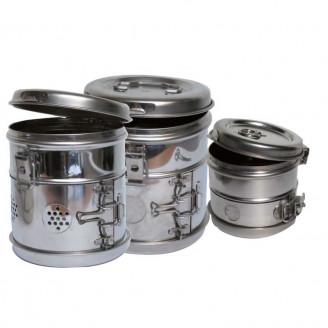 Les tambours en inox
